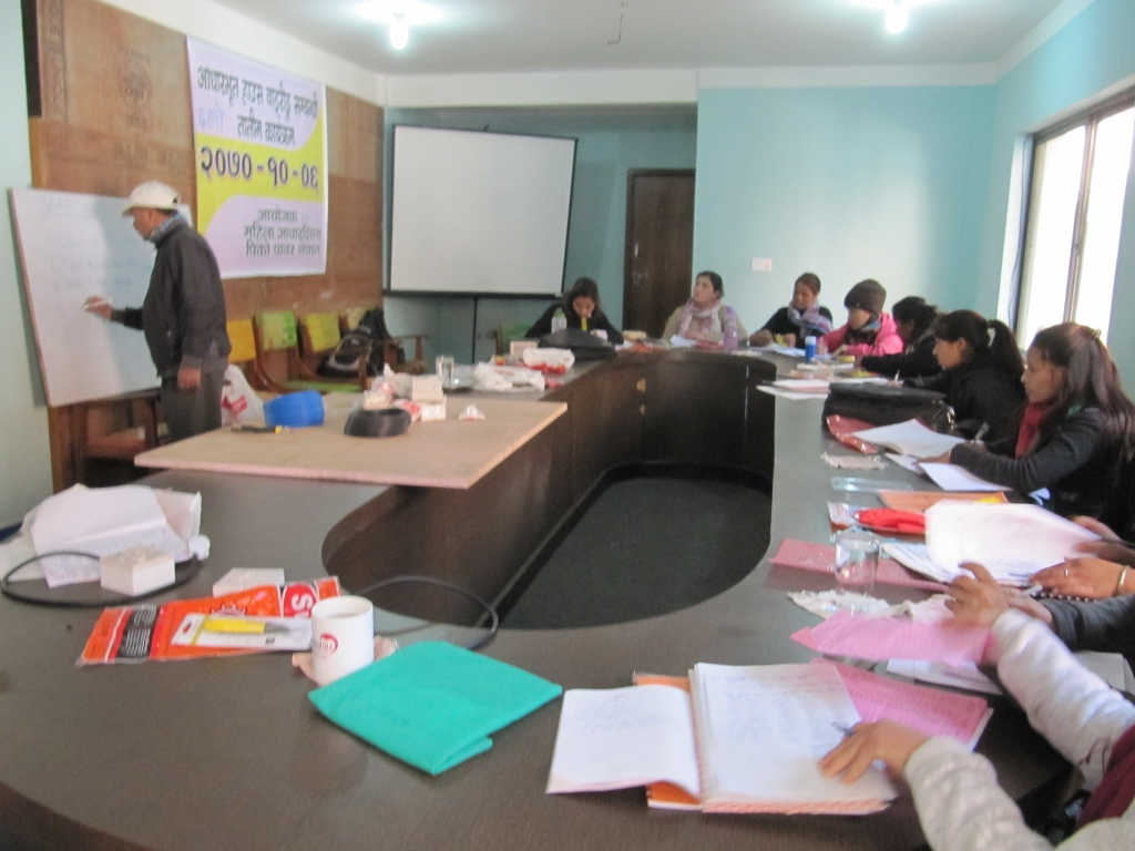 The Womens Foundation Nepal Basic House Wiring Training for Women